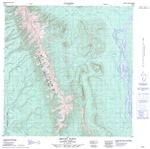 095B12 - MOUNT FLETT - Topographic Map