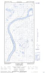 095H11W - MANNERS CREEK - Topographic Map