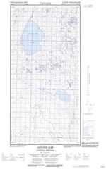 095H12E - ANTOINE LAKE - Topographic Map