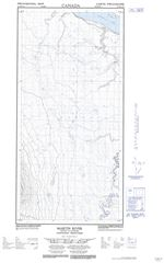 095H13W - MARTIN RIVER - Topographic Map