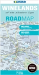 The Wine Lands of South Africa Travel & Road Map. This map in full colour is the most up-to-date with all research compiled & updated in South Africa, is highly detailed easy to read, includes GPS coordinates for important road junctions, road information