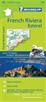 France - French Riviera - Esterel Travel Map. This map covers Cannes, Nice, Monaco and Menton areas. MICHELIN zoom map French Riviera is the ideal travel companion to fully explore this destination thanks to its easy to use format and its scale of 1:100,0