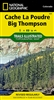 101 Cache La Poudre Big Thompson National Geographic Trails Illustrated