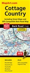 Cottage Country with Muskoka & Huntsville Travel Road Map. Includes city maps of Bracebridge, Gravenhurst, Huntsville and Parry Sound Includes regional map of Cottage Country area. These folded maps have been the trusted standard for years, offering unbea
