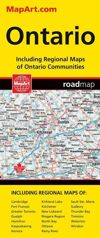 road map Mapart Map