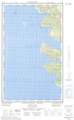 103F02E - CARTWRIGHT SOUND - Topographic Map