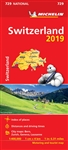 Switzerland Travel & Road Map. Updated annually, MICHELIN National Map Switzerland (map 729) will give you an overall picture of your journey thanks to its clear and accurate mapping scale 1:400,000. Our map will help you easily plan your safe and enjoyab