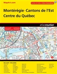Monteregie Cantons de l'Est Centre du Quebec map book. A full colour guide which includes over 75 cities between Huntingdon and Tracy/Sorel. Ideal for the weekend cottager or the business person on the go. Includes communities of: Acton Vale, Asbestos, Br