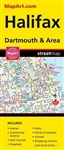 Map of Halifax Dartmouth & Area - Nova Scotia Travel Road map. Full Colour map of Halifax and area. Includes Beaver Bank, Bedford, Cole Harbour, Dartmouth, Eastern Passage, Fall River, Halifax, Lakeside, Lower Sackville, Middle Beaver Bank, Middle Sackvil