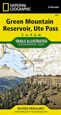 107 Green Mountain Reservoir Ute Pass National Geographic Trails Illustrated