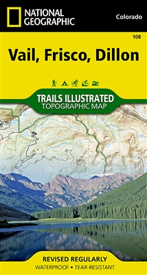 108 Vail Frisco Dillon National Geographic Trails Illustrated