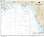 NOAA Chart 11006. Nautical Chart of the Gulf Coast - Key West to Mississippi River. NOAA charts portray water depths, coastlines, dangers, aids to navigation, landmarks, bottom characteristics and other features, as well as regulatory, tide, and other inf