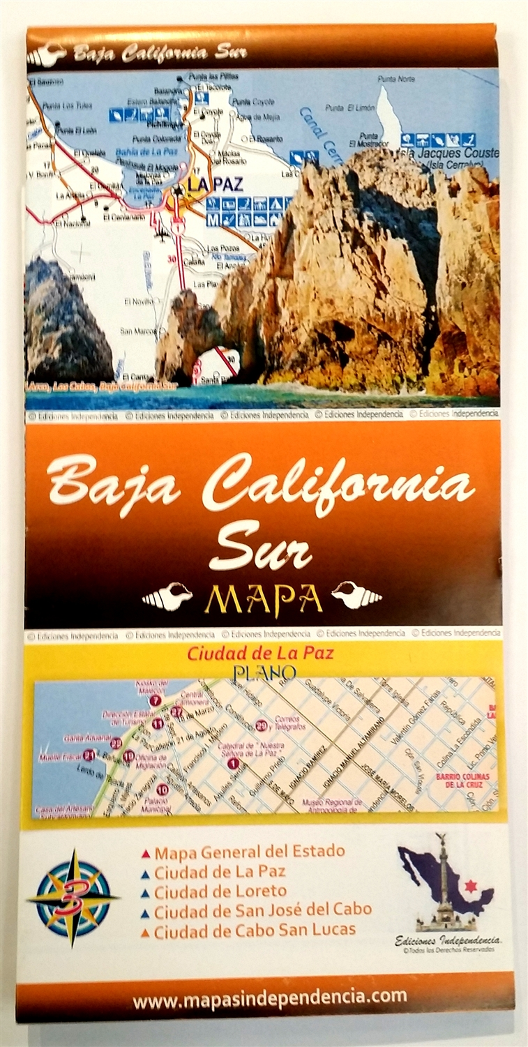 Baja California South map