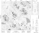 114P16 - MOUNT KELSALL - Topographic Map
