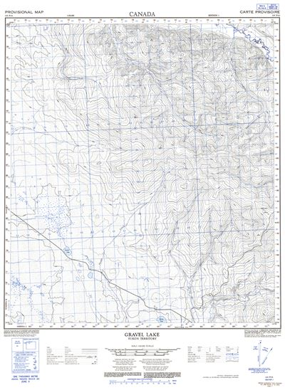 115P13 - GRAVEL LAKE - Topographic Map