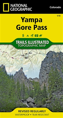 119 Yampa Gore Pass National Geographic Trails Illustrated