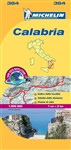 364 Italy Calabria Michelin Map