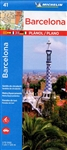 Barcelona Spain City Travel Map. Discover Barcelona by foot, car or bike using Michelin Barcelona City Plan (scale 1:12,000). In addition to Michelins clear and accurate mapping, this city plan will help you explore and navigate across BarcelonaÂ''s diff