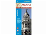 Madrid City Map. Discover Madrid by foot, car or bike using Michelin Madrid City Plan (scale 1/12,000 cm). In addition to Michelin's clear and accurate mapping, this city plan will help you explore and navigate across Madrid's different districts thanks t