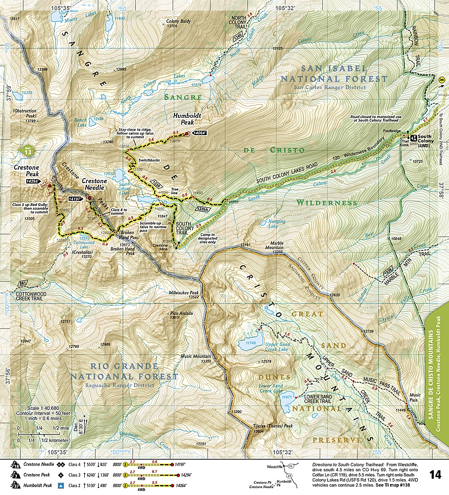 1303 - Colorado 14ers - South