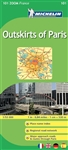 Outskirts of Paris France travel & road map. MICHELIN zoom map Outskirts of Paris is the ideal travel companion to fully explore the tourist areas around Paris thanks to its easy-to-use format and its scale of 1:53,000. In addition to Michelins clear an