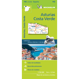 142 - Spain - Asturies,  Costa Verde Michelin