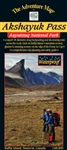 Akshayuk Pass- Auyuittuq National Park - Nunavut map. Situated on Baffin Island, this map is made specially for hiking, canoeing and other outdoor activities. This map provides current information, is easy to red and is waterproof. Includes detailed infor