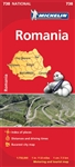 738 Romania Michelin Map