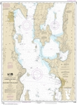 NOAA Chart 14782. Nautical Chart of Cumberland Head to Four Brothers Islands. NOAA charts portray water depths, coastlines, dangers, aids to navigation, landmarks, bottom characteristics and other features, as well as regulatory, tide, and other informati