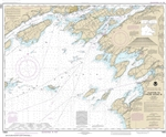 NOAA Chart 14802. Nautical Chart of Lake Ontario - Clayton to False Ducks lsland. NOAA charts portray water depths, coastlines, dangers, aids to navigation, landmarks, bottom characteristics and other features, as well as regulatory, tide, and other infor