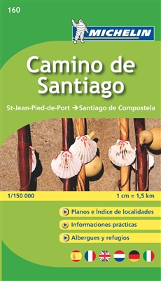 Camino de Santiago Spain travel & road map. MICHELIN zoom map Camino de Santiago is the ideal travel companion to fully explore this world famous pilgrimage, thanks to its easy-to-use booklet format and its scale of 1:150,000. This map covers the route fr