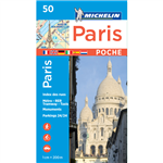 Paris Poche Pocket City Plan. Discover Paris by foot, car or bike using Michelin Paris Pocket City Plan. In addition to Michelins clear and accurate mapping, this pocket city plan will help you explore and navigate across Paris thanks to its full index, i