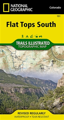 151 Flat Tops South National Geographic Trails Illustrated