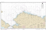 NOAA Chart 16003. Nautical Chart of the Arctic Coast. NOAA charts portray water depths, coastlines, dangers, aids to navigation, landmarks, bottom characteristics and other features, as well as regulatory, tide, and other information. They contain all cri