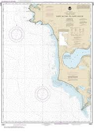 NOAA Chart 16601. Nautical Chart of Cape Alitak to Cape lkolik. NOAA charts portray water depths, coastlines, dangers, aids to navigation, landmarks, bottom characteristics and other features, as well as regulatory, tide, and other information. They conta