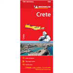 Crete Travel & Road Map. Updated regularly, MICHELIN National Map Crete will give you an overall picture of your journey thanks to its clear and accurate mapping scale 1:140,000. Our map will help you easily plan your safe and enjoyable journey in Crete t