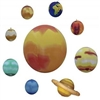 Inflatable Solar System - 10 Piece Planet Set. This set of inflatable globes is a great learning tool and resource. Includes the planets in our Solar System including the Sun, Mercury, Venus, Earth, Mars, Jupiter, Saturn, Uranus, Neptune and the disputed