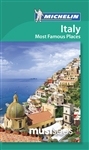 Italy Most Famous Places Must Sees Travel Guide Book. Beautiful Rome and Venice head up this short list, along with Lombardy and the Lakes, the Alps, Tuscany and Umbria, Naples and the Amalfi Coast, Genoa and Portofino, Emilia Romagna, Sicily and Sardinia
