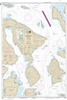 NOAA Nautical Chart 18430. Rosario Strait - Northern Part. NOAA maps portray water depths, coastlines, dangers, aids to navigation, landmarks, bottom characteristics and other features, as well as regulatory, tide, and other information. They contain all