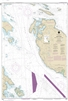 NOAA Chart 18433. Nautical Chart of Haro Strait - Middle Bank to Stuart Island. NOAA charts portray water depths, coastlines, dangers, aids to navigation, landmarks, bottom characteristics and other features, as well as regulatory, tide, and other informa