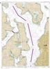 NOAA Nautical Chart 18473. Oak Bay to Shilshole Bay Puget Sound. NOAA maps portray water depths, coastlines, dangers, aids to navigation, landmarks, bottom characteristics and other features, as well as regulatory, tide, and other information. They contai