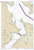 NOAA Nautical Chart 18477. Puget Sound Entrance to Hood Canal. NOAA maps portray water depths, coastlines, dangers, aids to navigation, landmarks, bottom characteristics and other features, as well as regulatory, tide, and other information. They contain