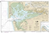 NOAA Nautical Chart 18502. Grays Harbor - Westhaven Cove - Chehalis River. NOAA maps portray water depths, coastlines, dangers, aids to navigation, landmarks, bottom characteristics and other features, as well as regulatory, tide, and other information. T