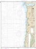 NOAA Chart 18520. Nautical Chart of Yaquina Head to Columbia River. Also includes Netarts Bay. NOAA charts portray water depths, coastlines, dangers, aids to navigation, landmarks, bottom characteristics and other features, as well as regulatory, tide, an