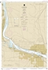 NOAA Chart 18543. Nautical Chart of Columbia River - Pasco to Richland. NOAA charts portray water depths, coastlines, dangers, aids to navigation, landmarks, bottom characteristics and other features, as well as regulatory, tide, and other information. Th