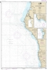 NOAA Chart 18620. Nautical Chart of Point Arena to Trinidad Head. Includes Rockport Landing and Shelter Cove. NOAA charts portray water depths, coastlines, dangers, aids to navigation, landmarks, bottom characteristics and other features, as well as regul