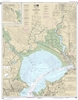 NOAA Chart 18654. Nautical Chart of San Pablo Bay. NOAA charts portray water depths, coastlines, dangers, aids to navigation, landmarks, bottom characteristics and other features, as well as regulatory, tide, and other information. They contain all critic
