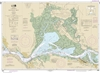 NOAA Chart 18656. Nautical Chart of Suisun Bay. NOAA charts portray water depths, coastlines, dangers, aids to navigation, landmarks, bottom characteristics and other features, as well as regulatory, tide, and other information. They contain all critical