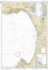 NOAA Chart 18685. Nautical Chart of Monterey Bay. Includes insets of Monterey Harbor, Moss Landing Harbor, and Santa Cruz Small Craft Harbor. NOAA charts portray water depths, coastlines, dangers, aids to navigation, landmarks, bottom characteristics and