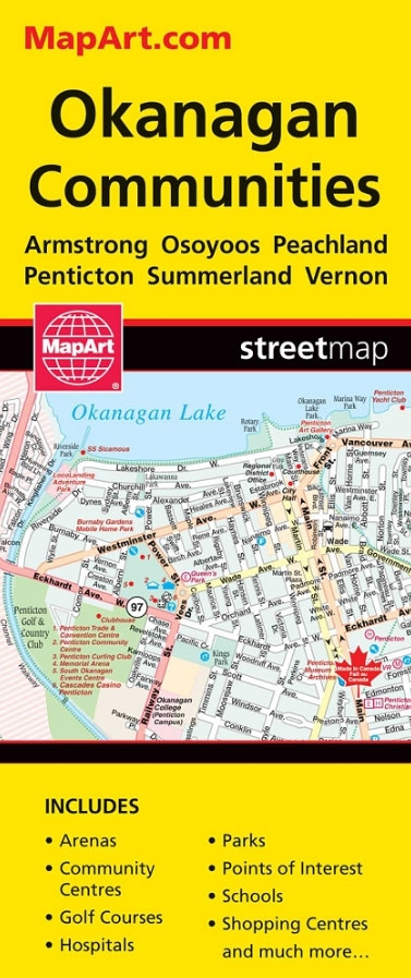 Okanagan Communities - Kelowna on british columbia map, alberta map, st. catharines map, whistler map, abbotsford map, st. john's map, vernon bc map, okanagan map, quesnel lake map, london map, ville st. laurent map, lake country bc map, canada map, kamloops map, whitehorse map, niagara region map, prince george map, cardston map, southern bc map, ft st john map,